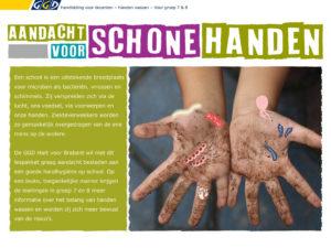 Lespakket handen wassen voor docenten